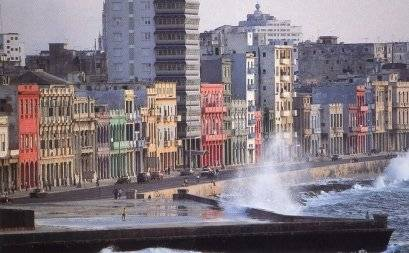 Havana's Malecon (boardwalk)